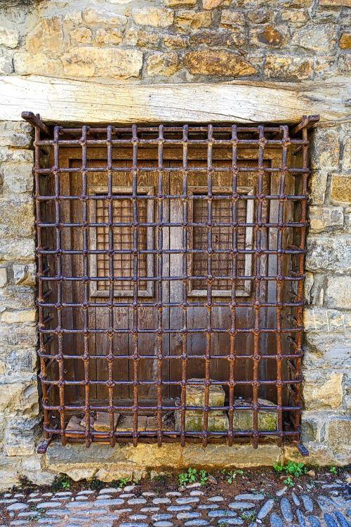 bars window exterior