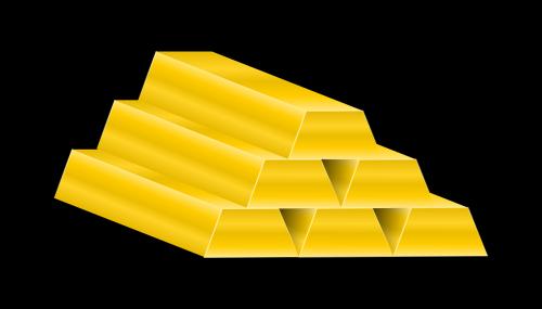 bars gold money