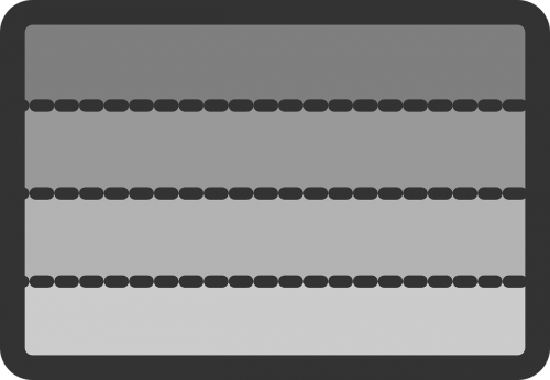 bars rectangles slots