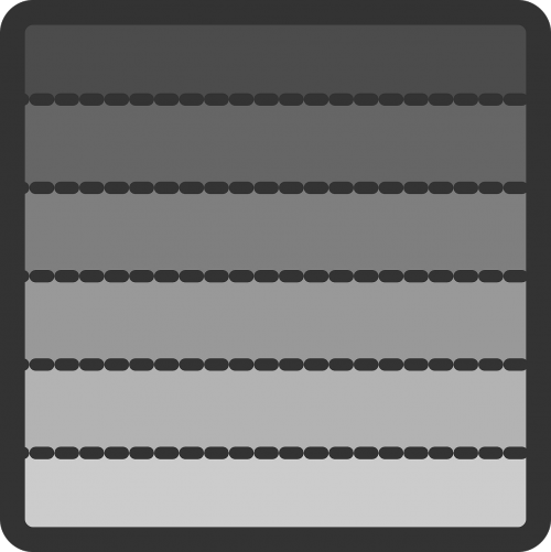 bars rectangles sections