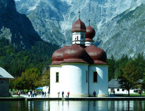 bartholomä st king lake berchtesgadener land