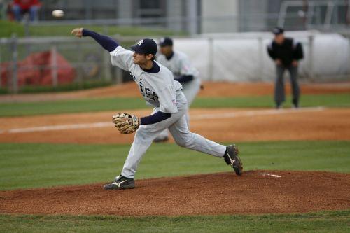 baseball pitcher umpire