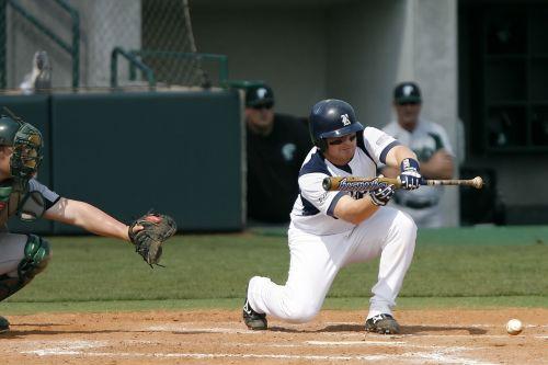 baseball college baseball bunt
