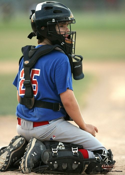 baseball catcher home plate