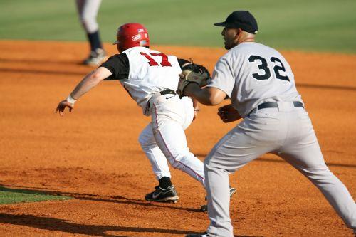 baseball stealing stealing second