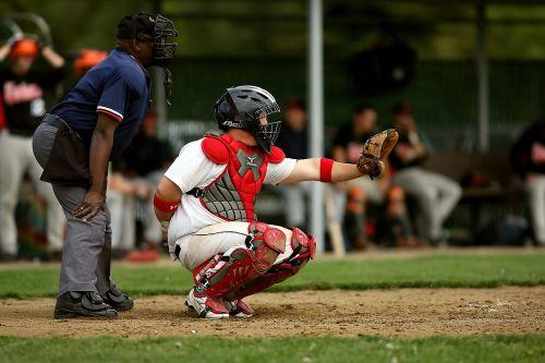 baseball baseball umpire baseball catcher
