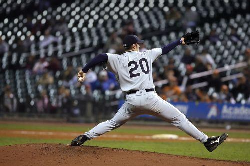 baseball pitcher stretch