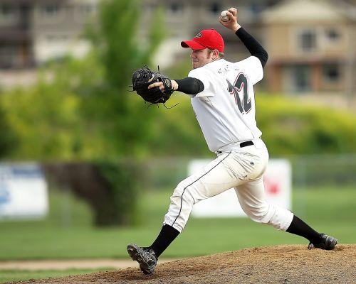 baseball pitcher player