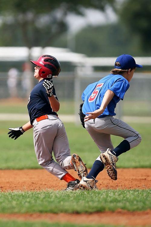 baseball collision little league