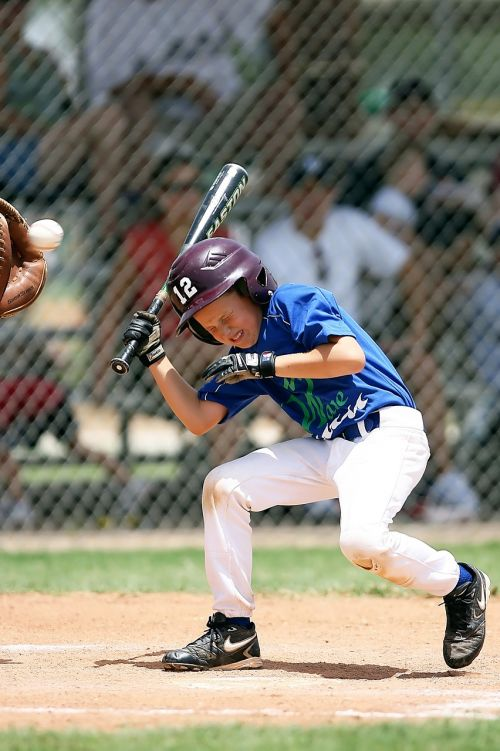 baseball little league batter