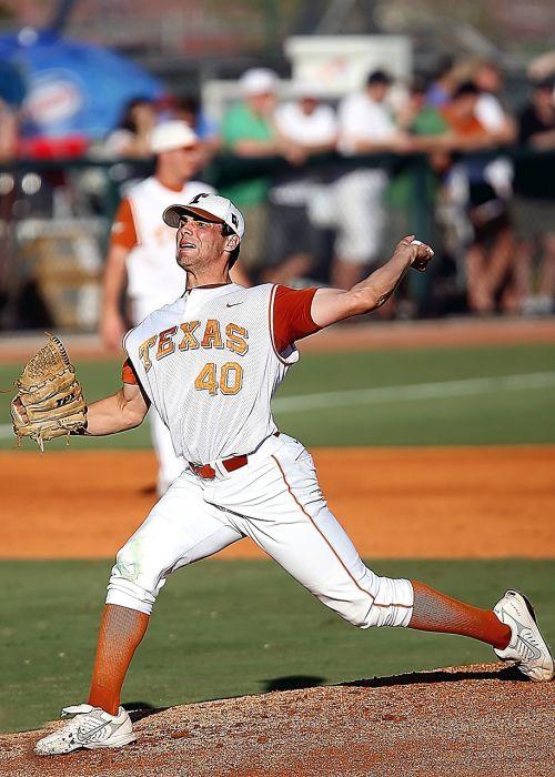 baseball pitcher texas