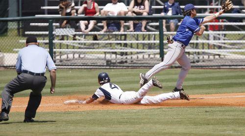 baseball sliding action