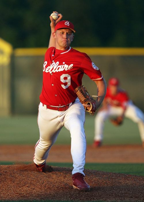 baseball pitcher pitching