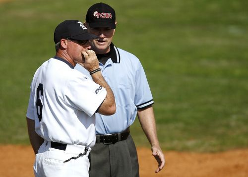 baseball umpire coach