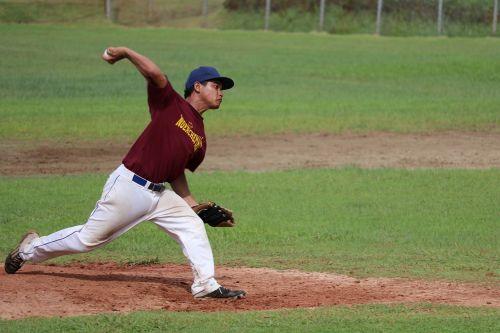 baseball sport male