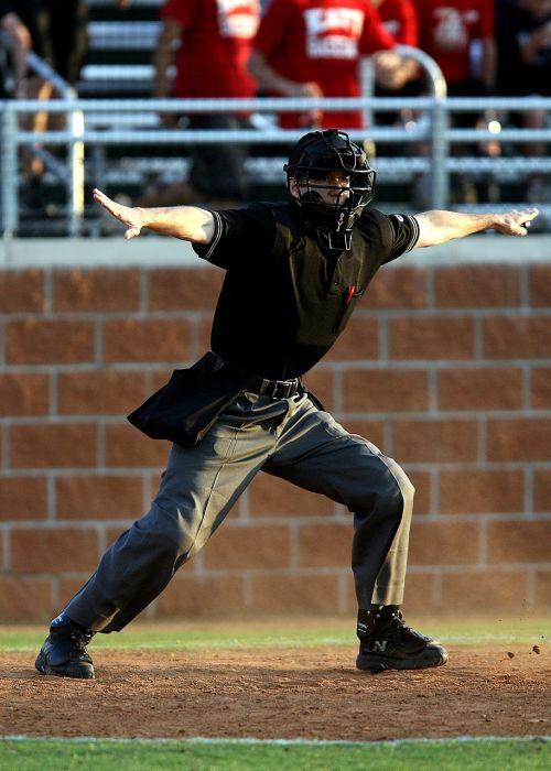 baseball sport umpire