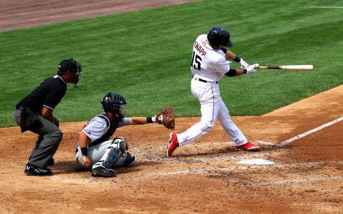 baseball swing catcher
