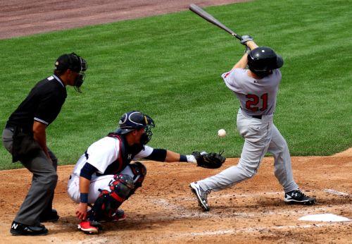 baseball batter catcher