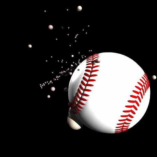 baseball ball impact