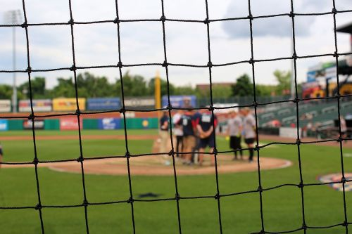 baseball out of focus sport