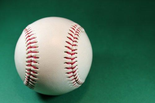baseball  round  white
