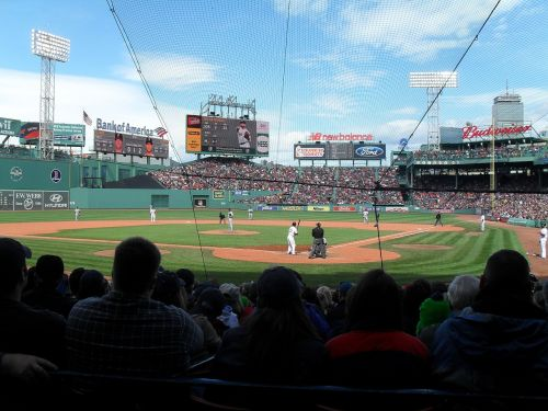 baseball sports stadium