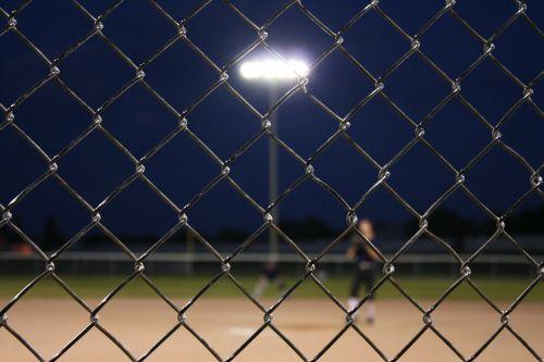 baseball fence chain