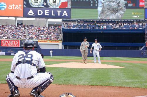 baseball catcher field