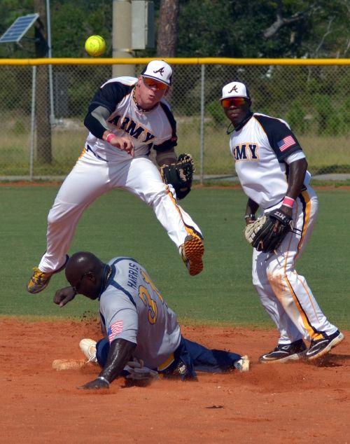 baseball second base play