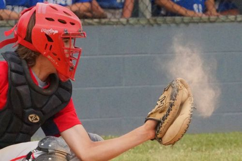 baseball catch summer