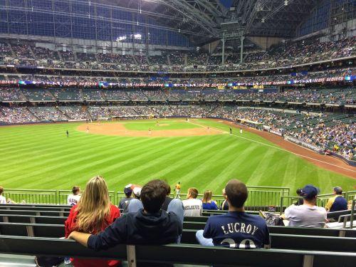 baseball stadium stands