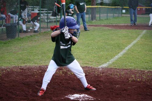 baseball little league children