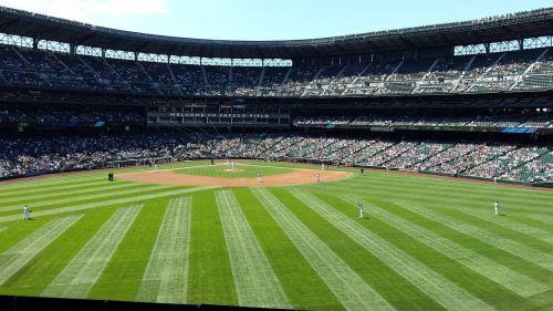 beisbolo deimantas,sportas,beisbolo stadionas,safeco laukas,stadionas,Seattle,Vašingtonas