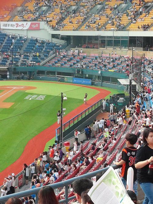 baseball field jamsil baseball
