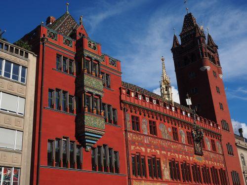 basel city hall town hall basel