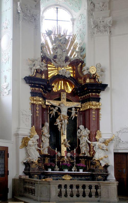 basilica vierzehnheiligen side altar