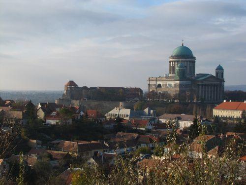 basilica clouds esztergom