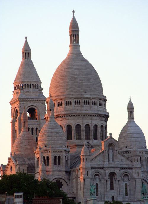basilica basilica of the sacré cœur structure