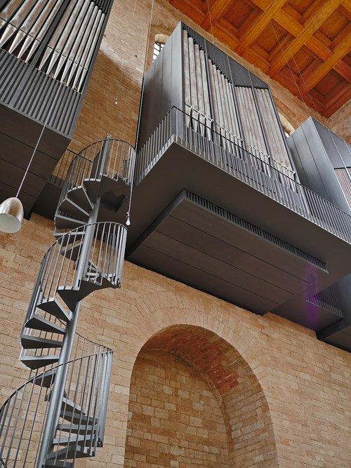 basilica  trier  organ empore