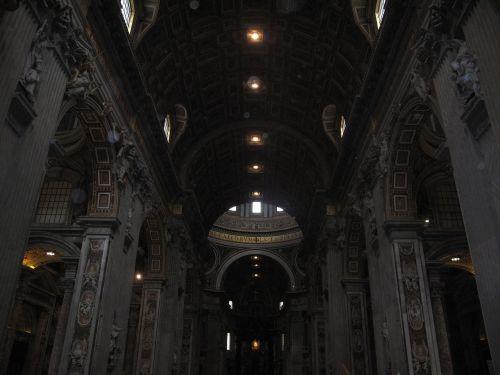 basilica san pedro paneling