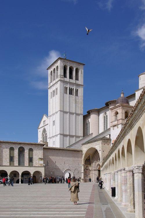 basilica basilica of san francesco assisi
