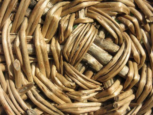basket woven wicker