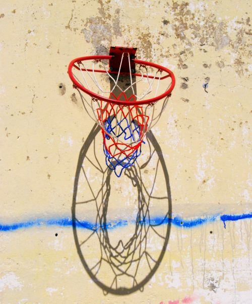 basket wall old