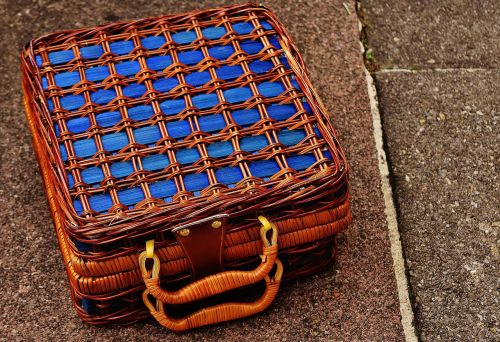 basket luggage small