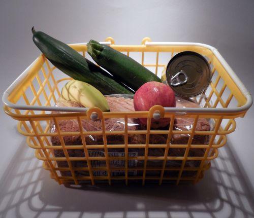 basket shopping cart purchasing