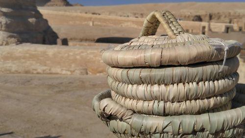 basket egypt sphinx