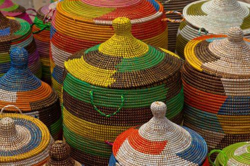 basket color colorful color