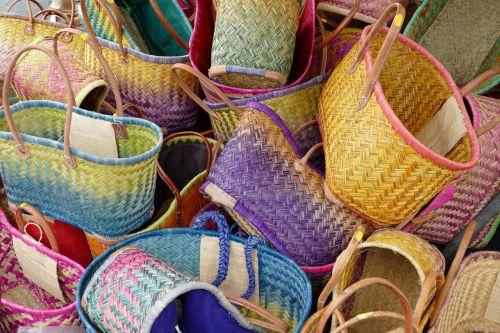 basket bag shopping bag