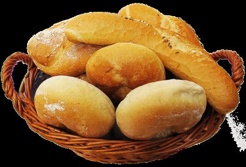 basket bread basket roll