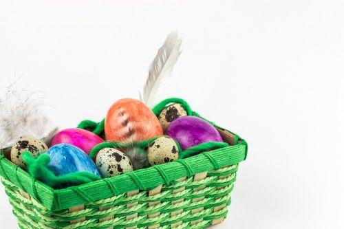 basket easter egg